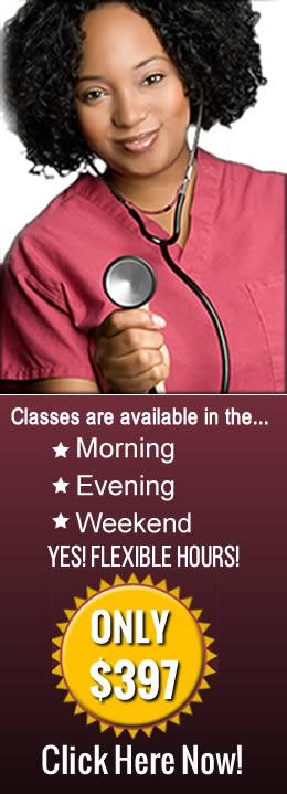 CNA Training In Miami Information